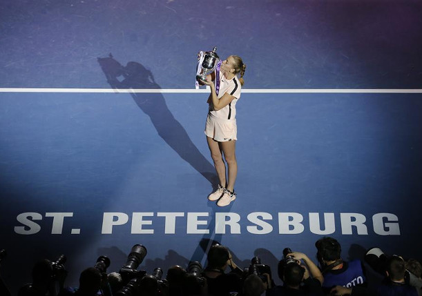 Kvitova Powers To St. Petersburg Title