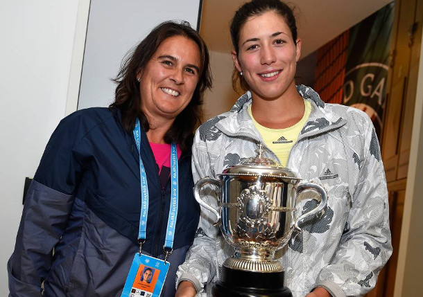 Conchita Martinez and Garbine Mugurua Have Parted Ways