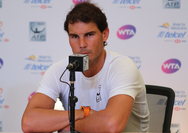 Nadal Pulls out of Acapulco with Injury