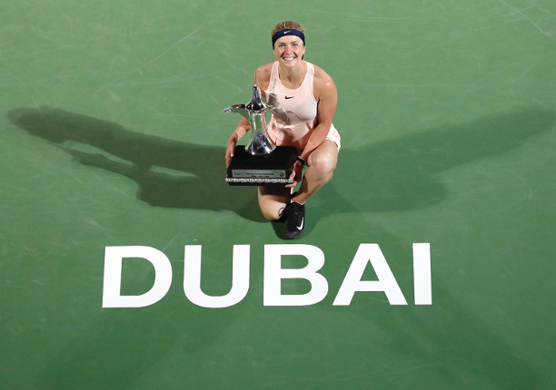 Svitolina Sweeps Second Straight Dubai Crown