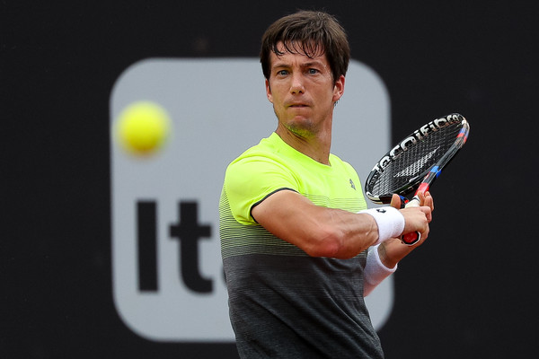 Watch: Bedene Goes Ballistic after Bad Call Costs Him Break Point