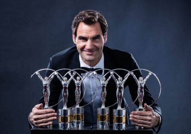 Roger Federer Takes Home Two More Laureus Sport Awards