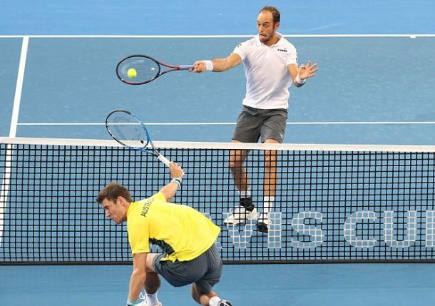 Germany, Italy Edge Ahead with Doubles Triumphs