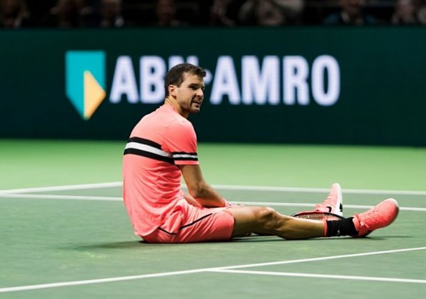 Dimitrov and Goffin Cruise in Rotterdam