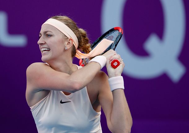 Kvitova Wins Lucky 13 in Doha, Will Crack Top 10
