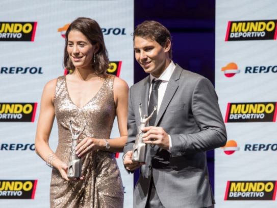 Nadal and Muguruza Take Home Awards at 70th Annual Mundo Deportivo