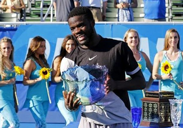 Tiafoe Wins His First Career Title Delray Beach Open