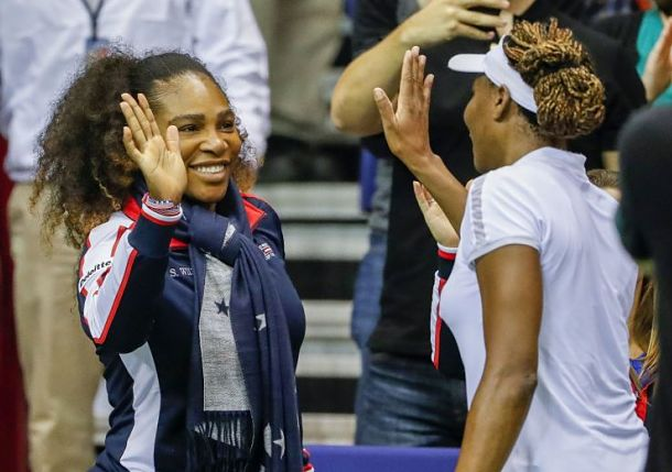 Venus Williams Leads USA into Fed Cup Semis