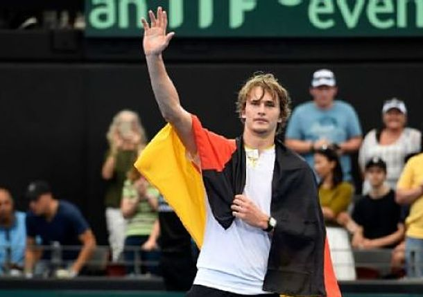 Zverev Defeats Kyrgios to Lead Germany to Victory over Australia