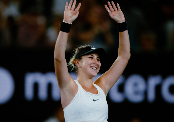 Bencic Bounces Venus in AO Opener