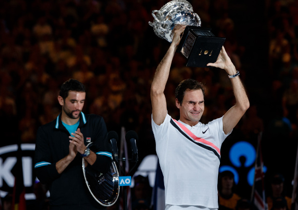 Federer Tops Cilic For 20th Grand Slam Crown
