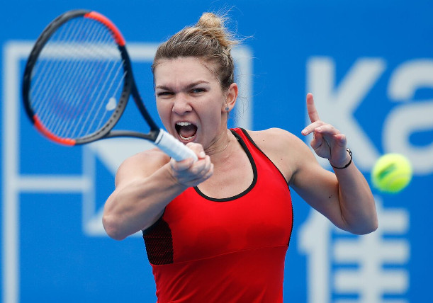 Halep To Face Siniakova In Shenzhen Final