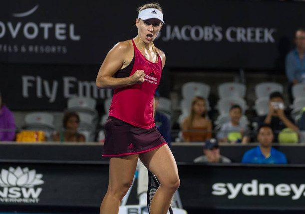 Kerber Rallies Past Venus Into Sydney Quarters