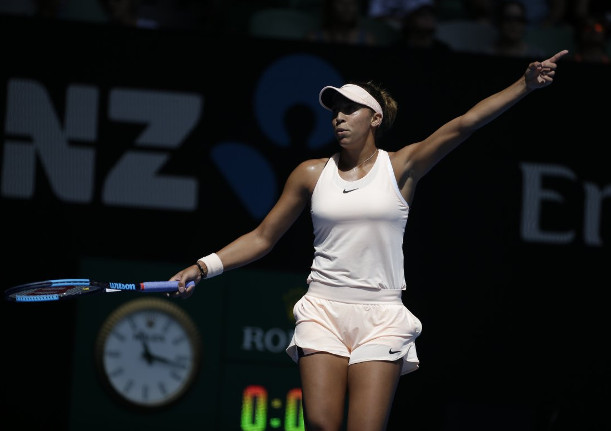 Keys Crushes Garcia, Charges Into AO Quarterfinals