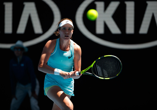 Lucky Loser Pera Shocks Konta in AO Second Round