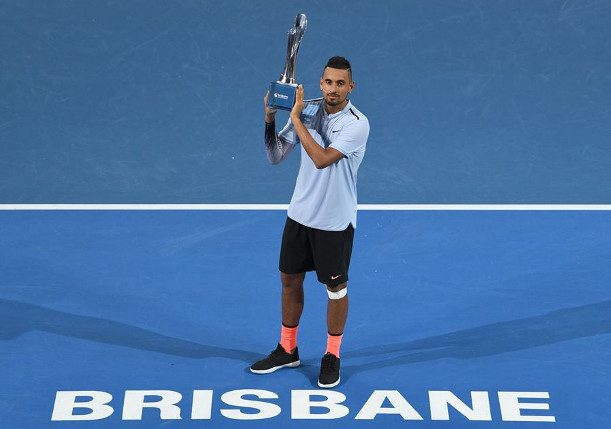 Kyrgios Captures Brisbane Title