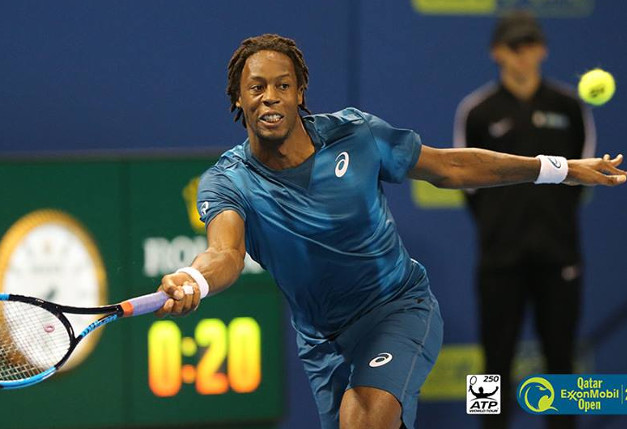 Monfils To Meet Thiem In Doha Semifinals