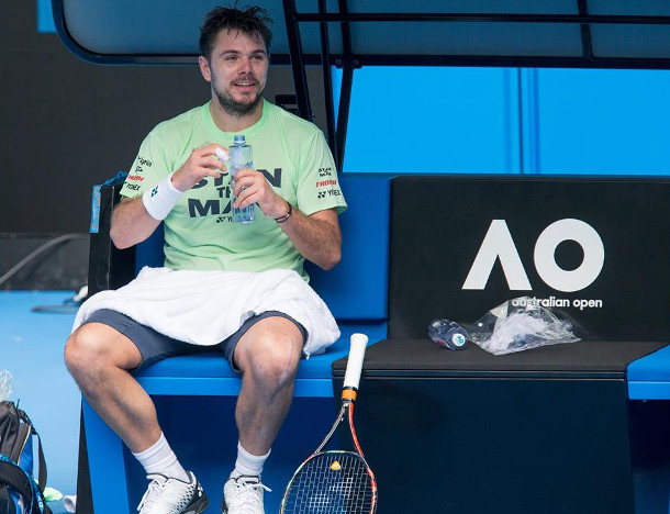 Wawrinka Sees Comeback Light