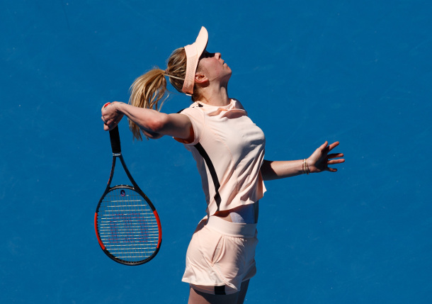 Svitolina Sweeps Ukrainian Battle, Into AO Fourth Round