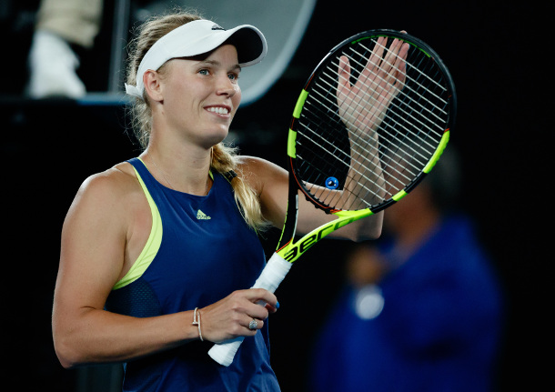 Wozniacki Wins the Australian Open