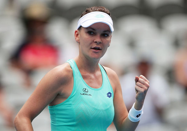 Radwaska Defeats Konta in Sydney Final Rematch