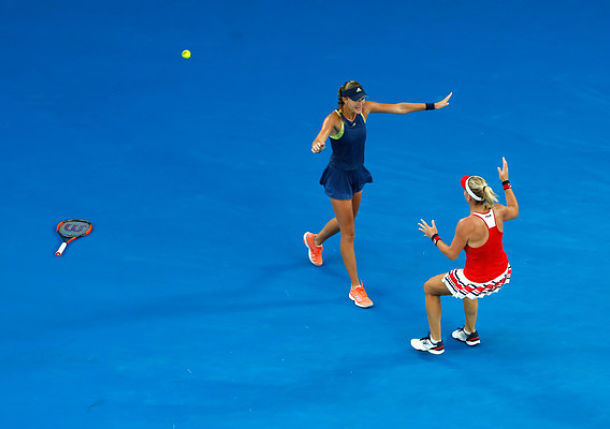 Babos and Mladenovic Claim Aussie Open Doubles Title