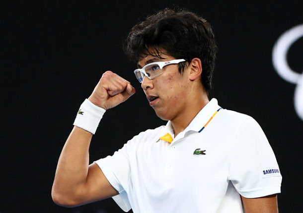 Chung Stuns Djokovic and Becomes First Korean Grand Slam Quarterfinalist