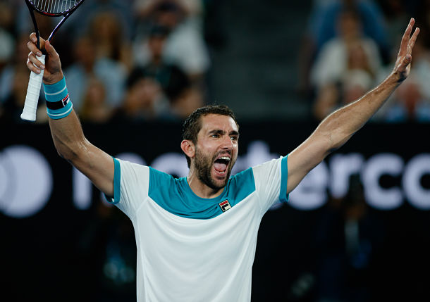 Cilic Eases Past Edmund and into First Australian Open Final