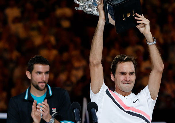 Photo Gallery: Federer Wins the 2018 Australian Open, Claiming his 20th Major Title