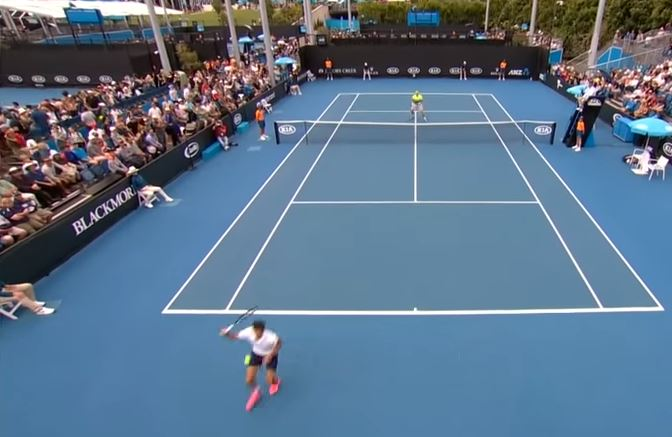 Watch: Herbert's Glorious 'Tweener Befuddles Istomin