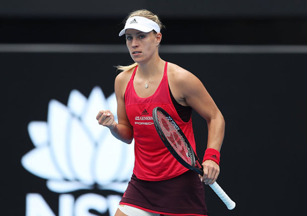 Kerber Claims First Title Since 2016 U.S. Open at Sydney