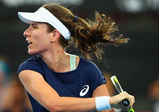 Konta Downs Keys in Blockbuster Brisbane Opener