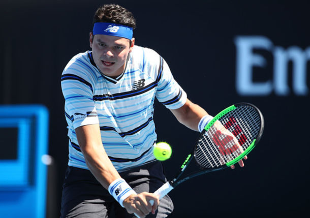 Raonic, Bautista Agut Upset on Day 2