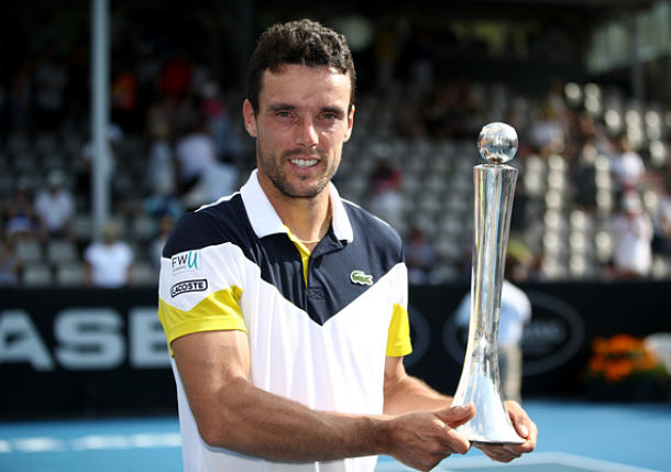 Bautista Agut Defeats Del Potro for Auckland Title