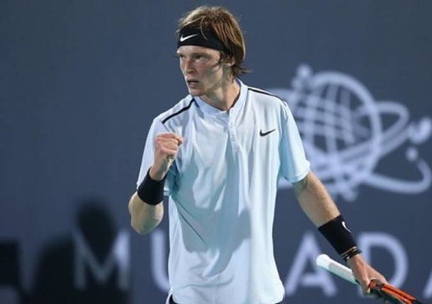 Rublev Pulls out of Auckland