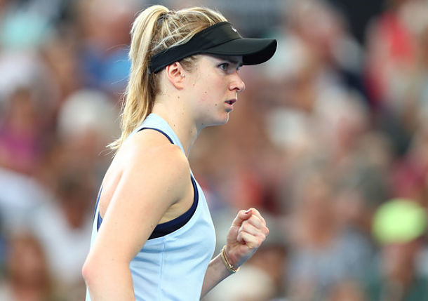 Svitolina Sets Rematch Semi with Pliskova in Brisbane