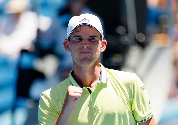 Thiem Dream Lives on as Austrian Battles Back from Two Sets Down