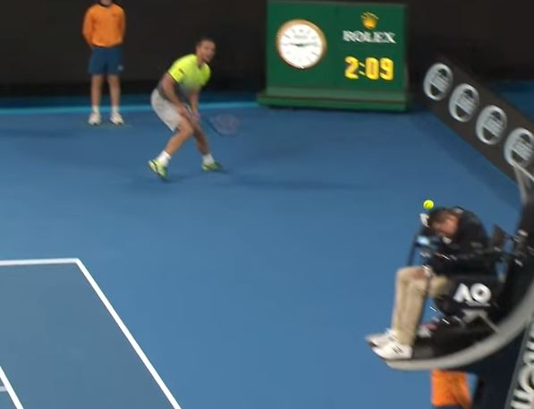Troicki's Backhand Scores a Direct Hit on Keothavong