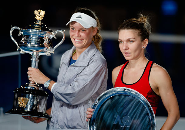 Winning, Losing and Growing: Wozniacki, Halep Both Won in Melbourne