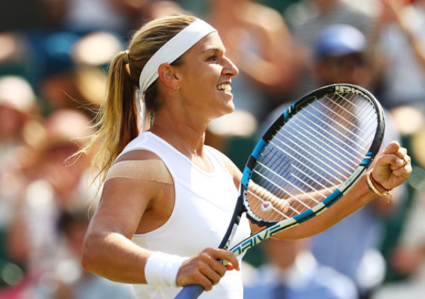 Cibulkova Sets Ostapenko Clash in Wimbledon Quarterfinals
