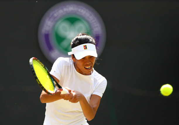 Hsieh Shocks No. 1 Halep at Wimbledon