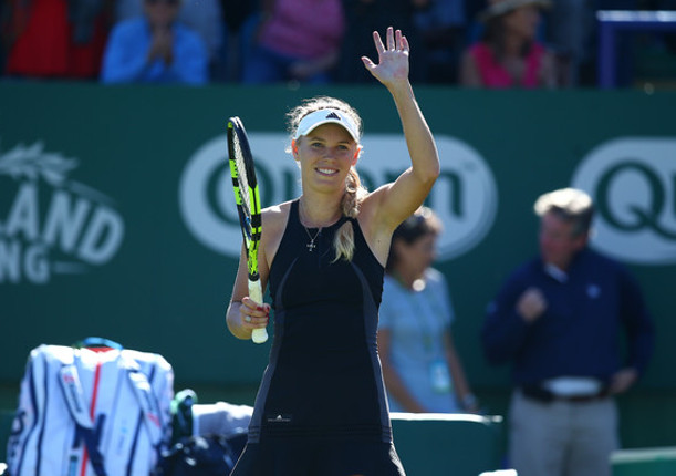 Wozniacki Saves Match Point, Subdues Kerber