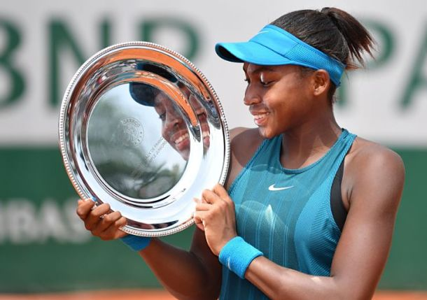 Florida's Coco Gauff is Youngest Girls Champion in 25 Years at Roland Garros