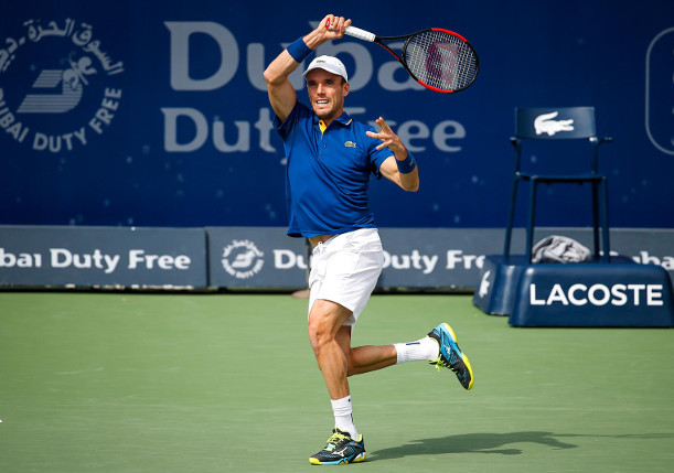 Bautista Agut vs. Jaziri For Spot In Dubai Final
