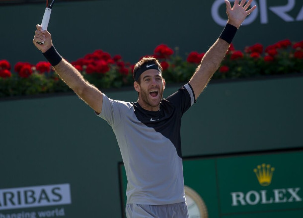 Del Potro Saves 3 Championship Points to Win Heated Battle with Federer