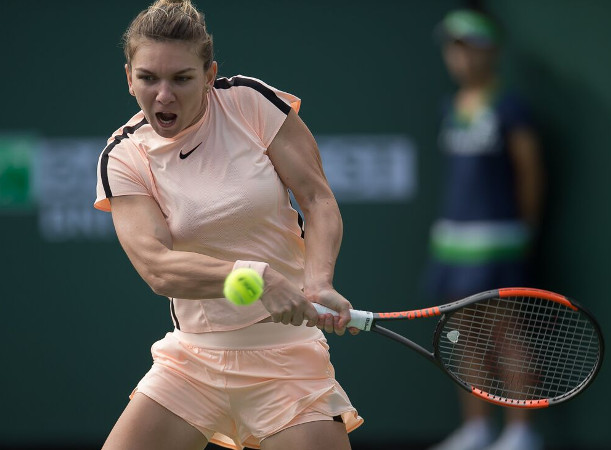 Halep Rallies Into Miami Third Round