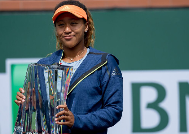 Overwhelming Osaka Rolls To IW Title