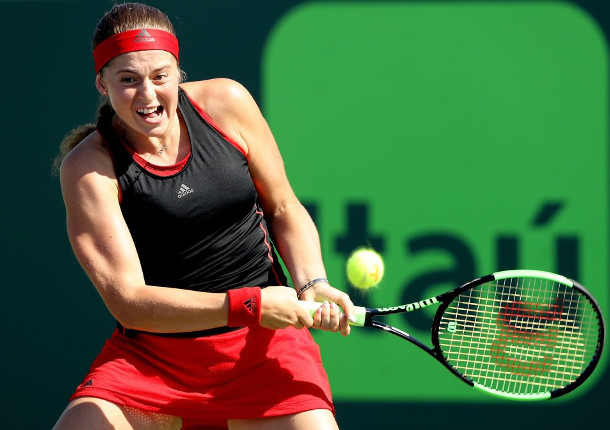 Ostapenko Edges Into Miami Semifinals
