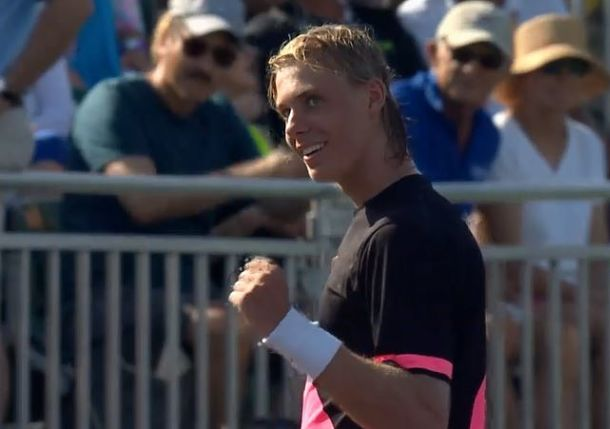 Shapovalov Reaches Round of 16 on Miami Debut