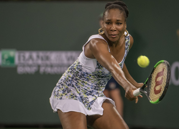 Venus Sweeps Into IW Semifinals